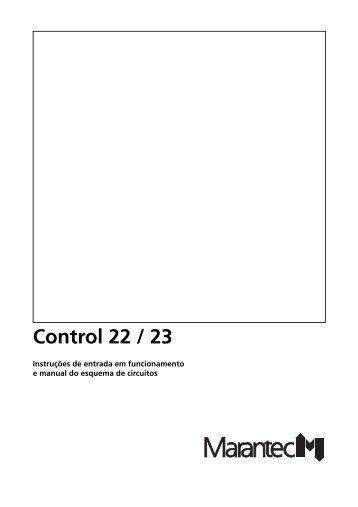 3. Entrada em funcionamento do comando Control 22 / 23 - Marantec