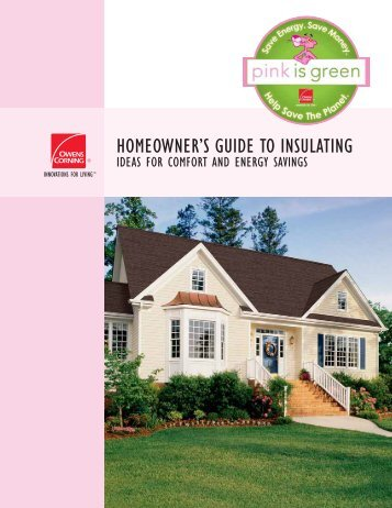 guide to insulating owens corning