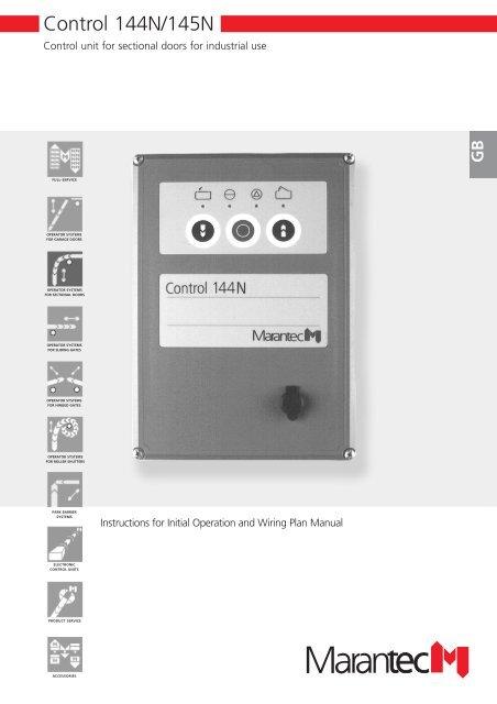 marantec control 53 pdf