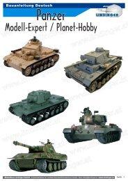 Panzer - Modellbau Lindinger Onlineshop
