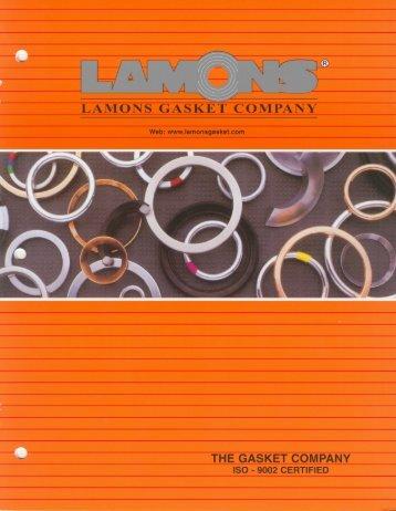 LAMONS GASKET COMPANY THE GASKET COMPANY