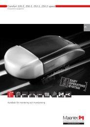 Drivsystem för garageportar - Marantec Antriebs