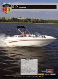 R19 Bow Rider - Mariah Boats