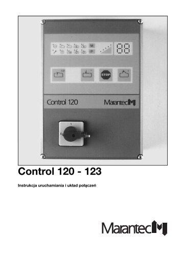 3. Uruchamianie sterowania Control 120-123 - Marantec