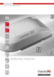 Comfort 257 - Marantec Antriebs