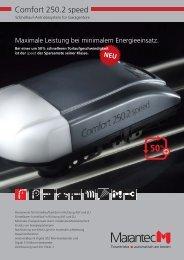 Comfort 250.2 speed - Marantec