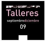 septiembrediciembre - Centro Cultural CajaGRANADA Memoria de ...