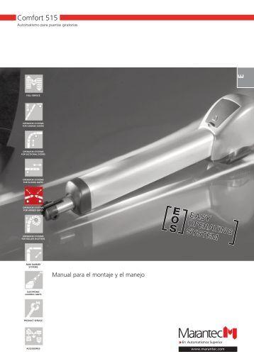 Marantec Comfort 252 Инструкция