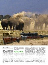 System in Stahl Roland Zeitler - Jagen Weltweit