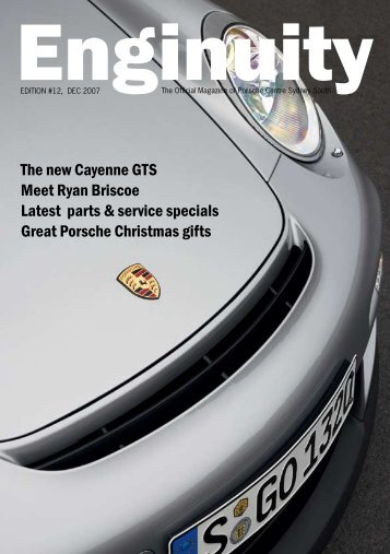 The New Cayenne GTS Meet Ryan Briscoe Latest - Porsche Centre ...