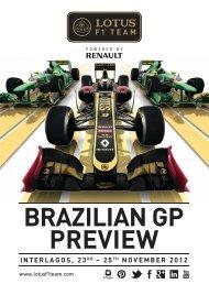 BRAZILIAN GP PREVIEW - Compelo