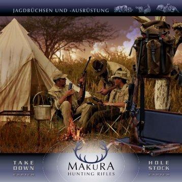 JAGDBÜCHSEN UND -AUSRÜSTUNG - Makura Hunting Rifles