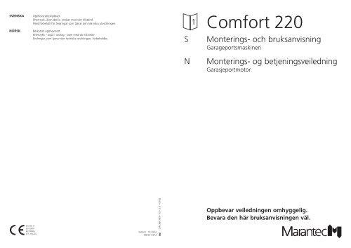 Comfort 220 - Marantec
