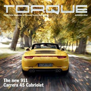 The new 911 Carrera 4S Cabriolet - Porsche Centre Melbourne