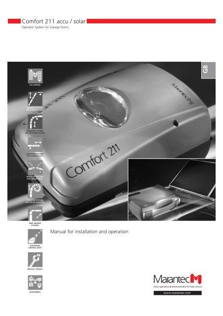 Comfort 211 accu / solar - Marantec