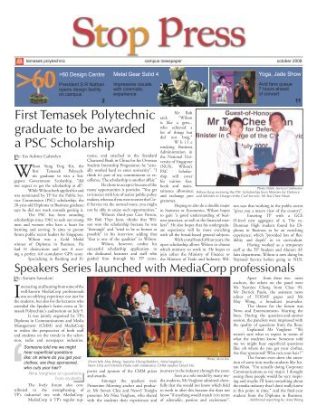Front Page Final.indd - School of Business - Temasek Polytechnic