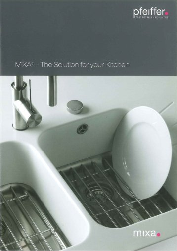 Mixa brochure - McD Marketing