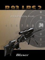 R93 LRS2 Broschüre - Blaser Jagdwaffen