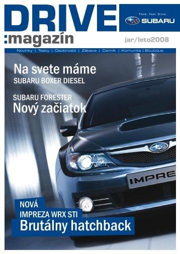 DRIVE magazín