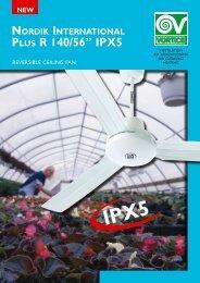 "NEW Nordik iNterNatioNal Plus r 140/56"" IPX5 - Vortvent"