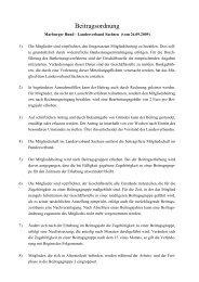 Beitragsordnung - Marburger Bund