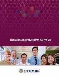Ultimus BPM Suite Broschüre Englisch [PDF] - ImageWare AG