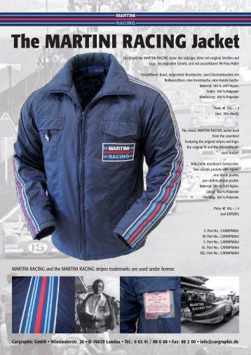The MARTINI RACING Jacket