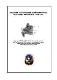 roedores transmisores de enfermedades - Facultad de Ciencias ...