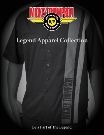 Legend Apparel Collection - Mickey Thompson