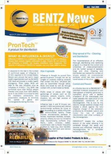 "PronTech""'l - Bentz Jaz Singapore Pte Ltd"