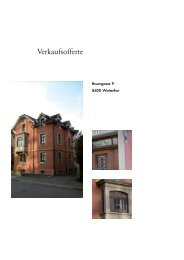 Verkaufsofferte - Im Lot Immobilien