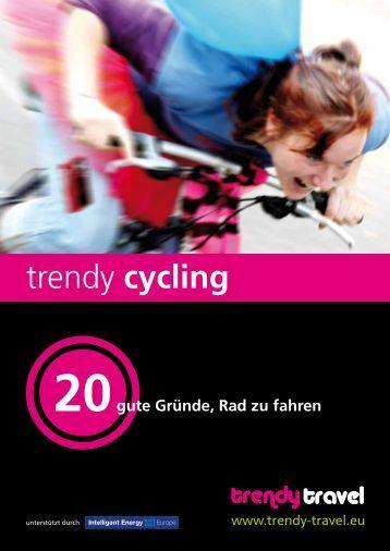 trendy cycling - Trendy Travel