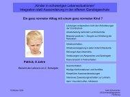 """""""Kinder in schwierigen Lebenssituationen"""" Integration statt ..."""