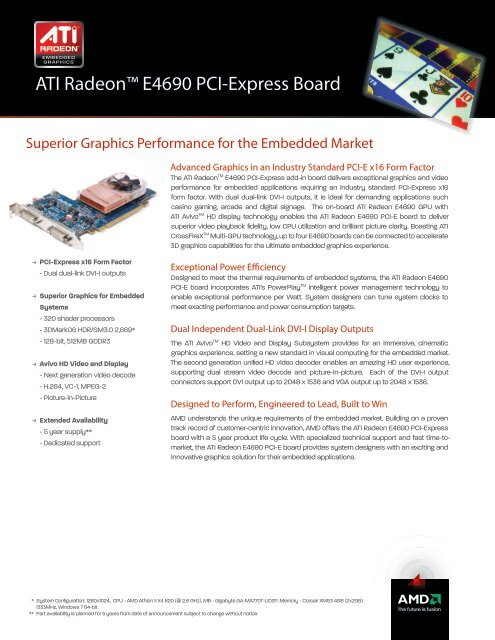 ATI RADEON E4690 GRAPHICS DRIVER FOR WINDOWS