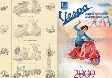 Catalogo Vespa Vintage 2009 - Motorsud