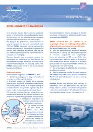 service- en garantievoorwaarden - Emrol