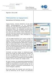 Press Release Pressemitteilung - Imaging Solutions