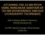 John S. Petersen, Robert T. Greenway, Periodic Structures, Inc. For ...