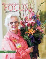 Gifts of Time - St. Joseph's Medical Center