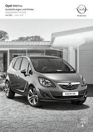 Opel Meriva - Opel Schweiz