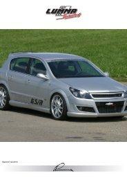 Astra Typ H / GTC - LUMMA-Tuning