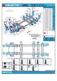 "OPEL VECTRA ""C"" TYP. F69 VECTRA ""C"" CC TYP. F68 - Hidrolift"