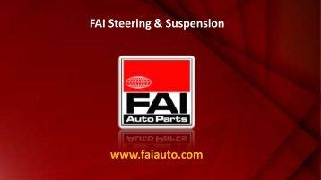 www.faiauto.com FAI Steering & Suspension