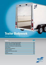 Trailer Bodywork - Ifor Williams