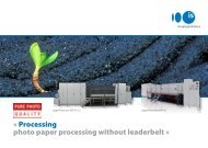 Processing photo paper processing without ... - Imaging Solutions