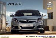 Catálogo del Opel Vectra - enCooche.com
