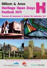 Millom & Area Heritage Open Days Festival 2011 - South Copeland ...