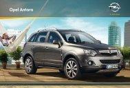 Antara Prospekt - Opel Schweiz