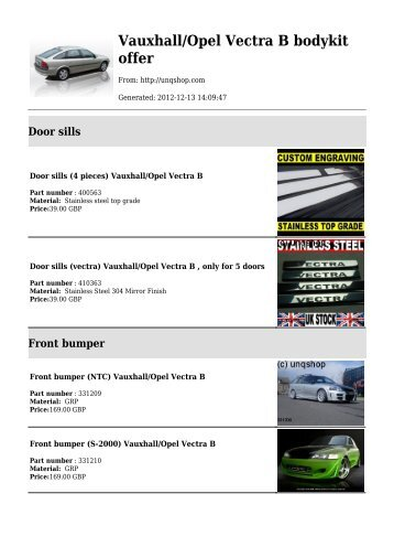vauxhall opel vectra b bodykit offer audi tt mk2?quality=80 100 [ wiring diagram opel zafira ] android 5 1 1 bluetooth gps vauxhall zafira towbar wiring diagram at readyjetset.co