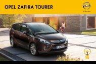 Prospekt Zafira Tourer - Opel Schweiz